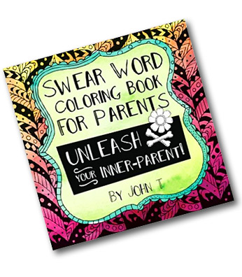 Sometimes You Need A Good Time Out Especially If Are Parent Introducing The Swear Word Coloring Book For ParentsThis Page Is