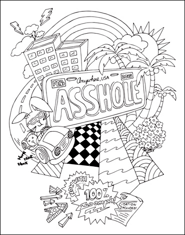 Adult Coloring Books | Swear Word Coloring Book