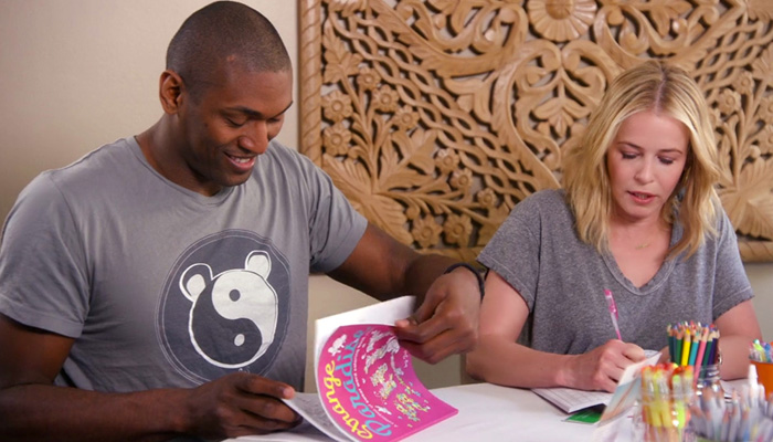 'Strange Paradise' seen on Netflix's Chelsea Handler, colored by NBA Champ!