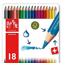best watercolor colored pencils Caran d'Ache