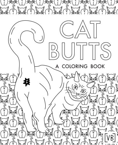 cat butt coloring books