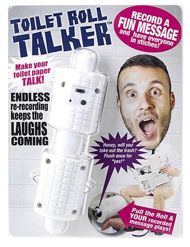 Toilet roll talker