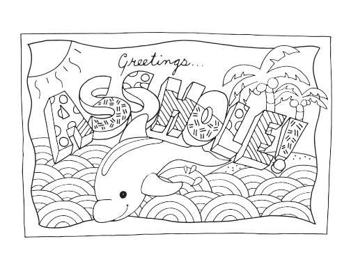 Small Coloring Book   Coloring Page
