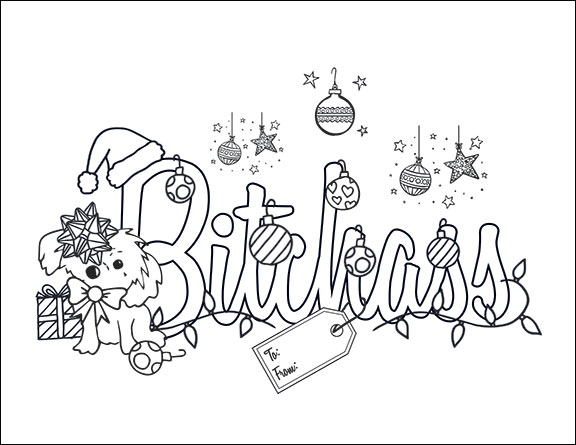 Free Swear Word Coloring Pages For Adults Only Printable