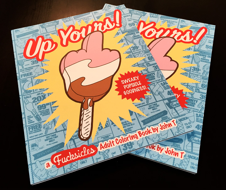 Up Yours! Adult Coloring Book