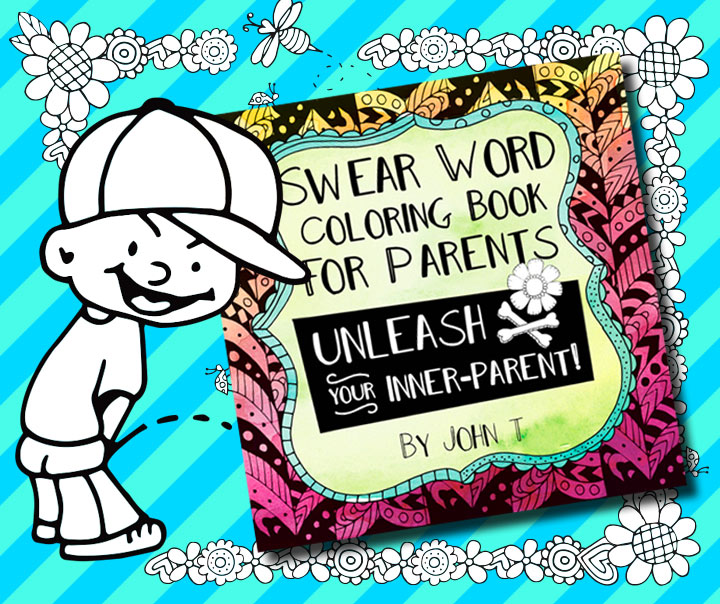Coloring book for parents