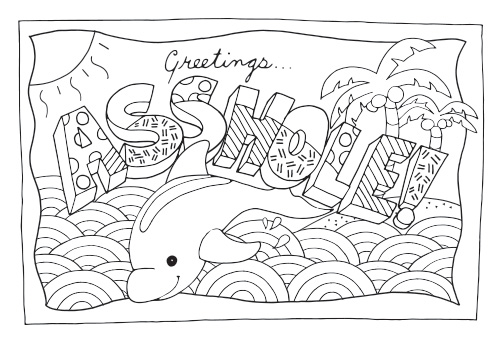 Swear Word Coloring Pages - Coloringnori - Coloring Pages For Kids
