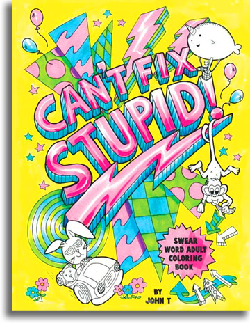 Introducing Extra Stress Relieving Adult Coloring Books Swear Word Coloring Book
