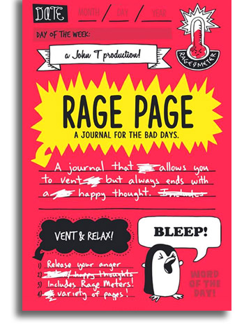 Rage Page Journal